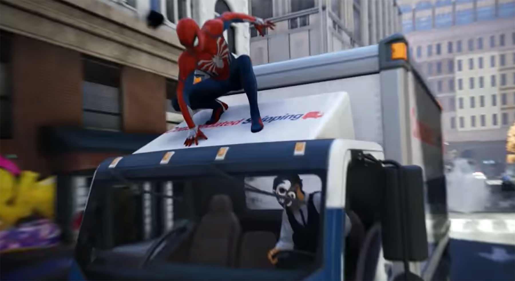 Das neue Spider-Man Videospiel schaut echt ganz gut aus