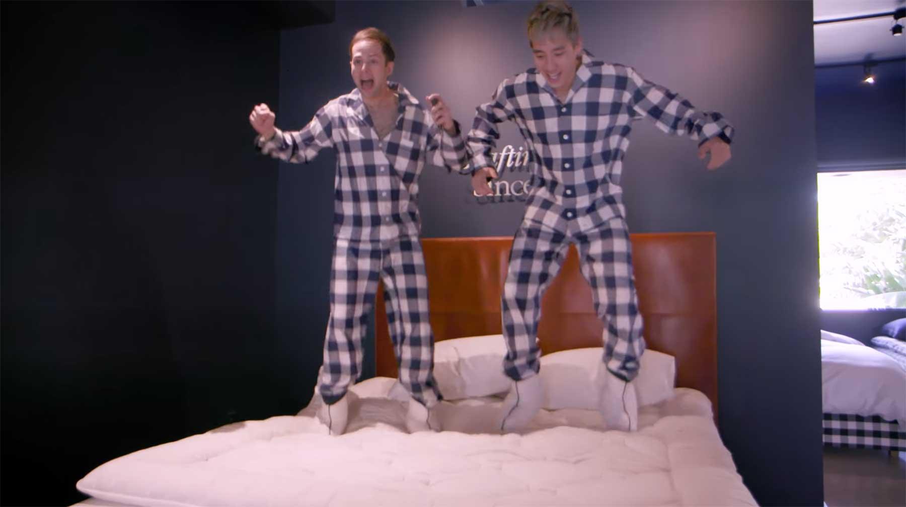 Schlafen im 150$- vs. 159.000$-Bett