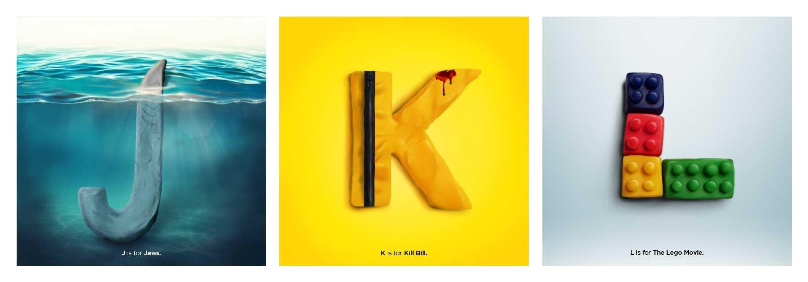Film-Alphabet aus Knet-Buchstaben 36-days-of-type-and-movie-Marv-Castillo_05