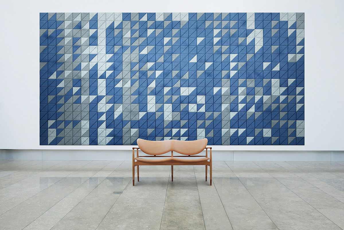 Schallschutz-Mosaik-Kacheln aus Holzwolle BAUX-TILES-HEXAGON_06