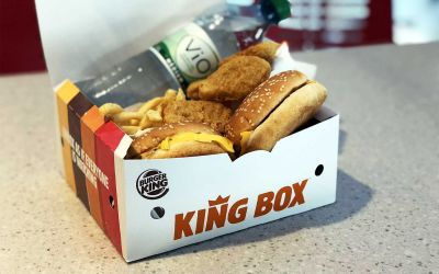 Neu und getestet: Die KING BOX von BURGER KING