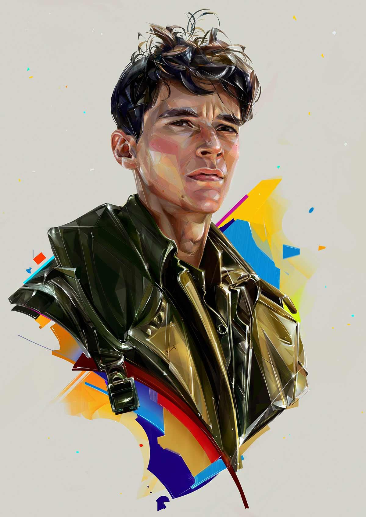 Promi-Portraits von Denis Gonchar Denis-Gonchar-Popkultur-Portraits_02