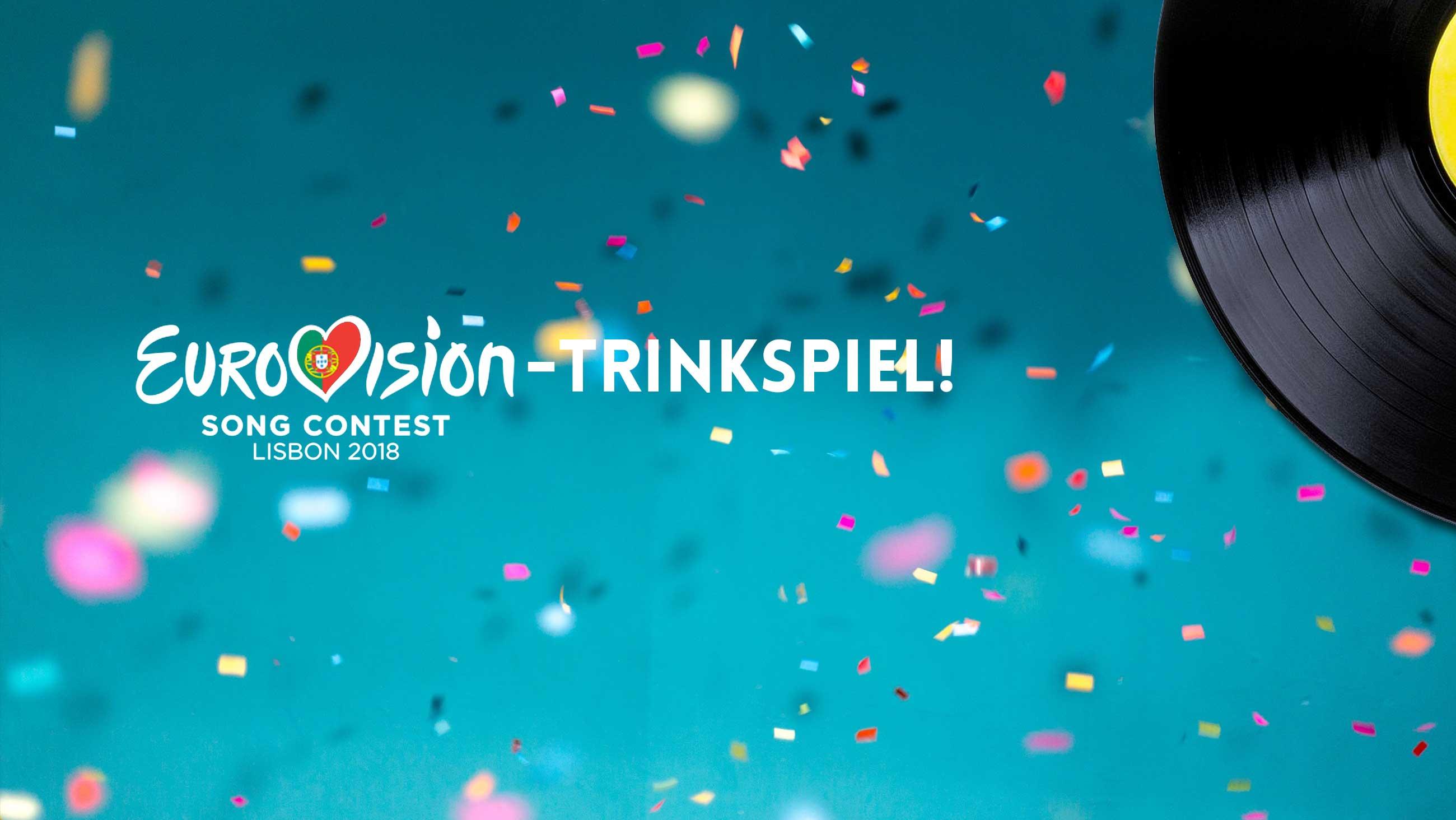 Eurovision Song Contest 2018: Trink- und Tippspiel