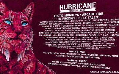 Hurricane Festival 2018 Line-up nach Tagen