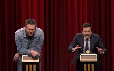 Songraten mit Jimmy Fallon und Blake Shelton