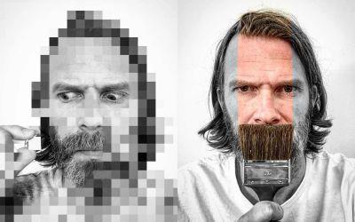 Kreative Selbstportraits von Peter Wihlborg