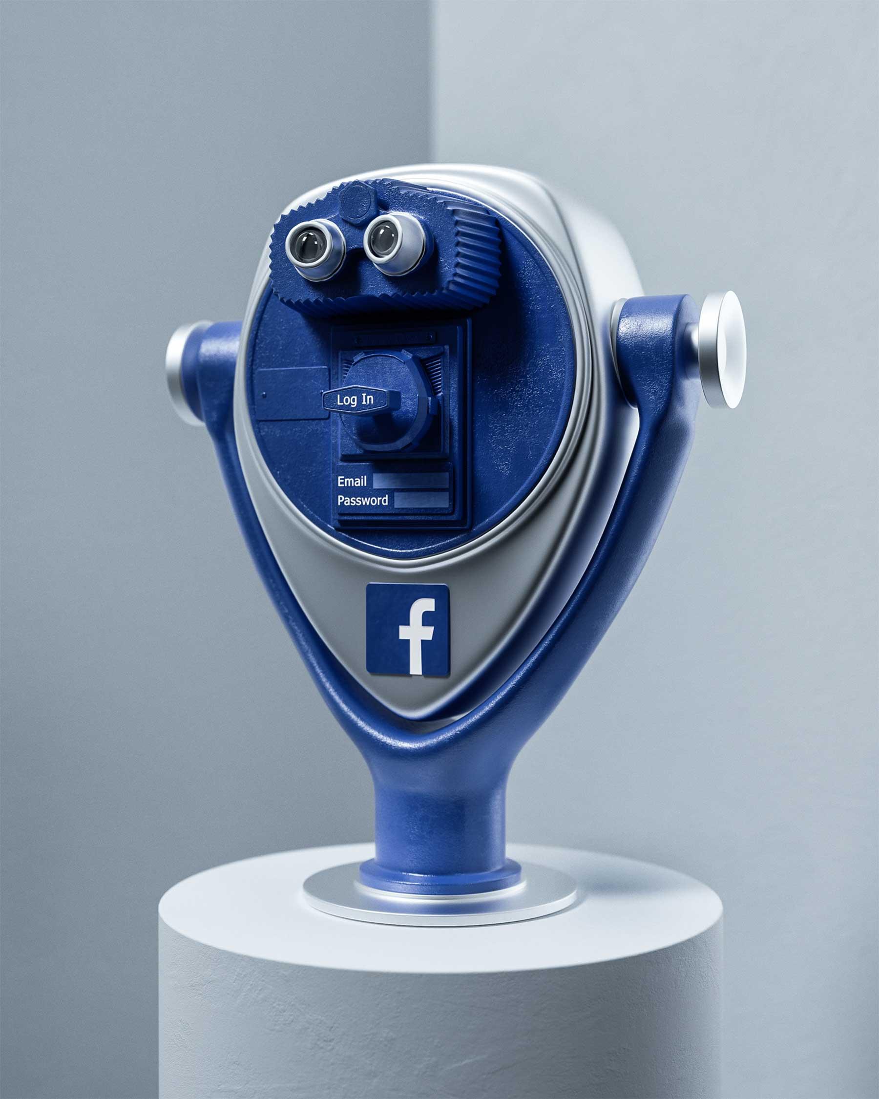 Soziale Netzwerke als visuelle Metaphern Social-Media-Reality-Ben-Fearnley_02