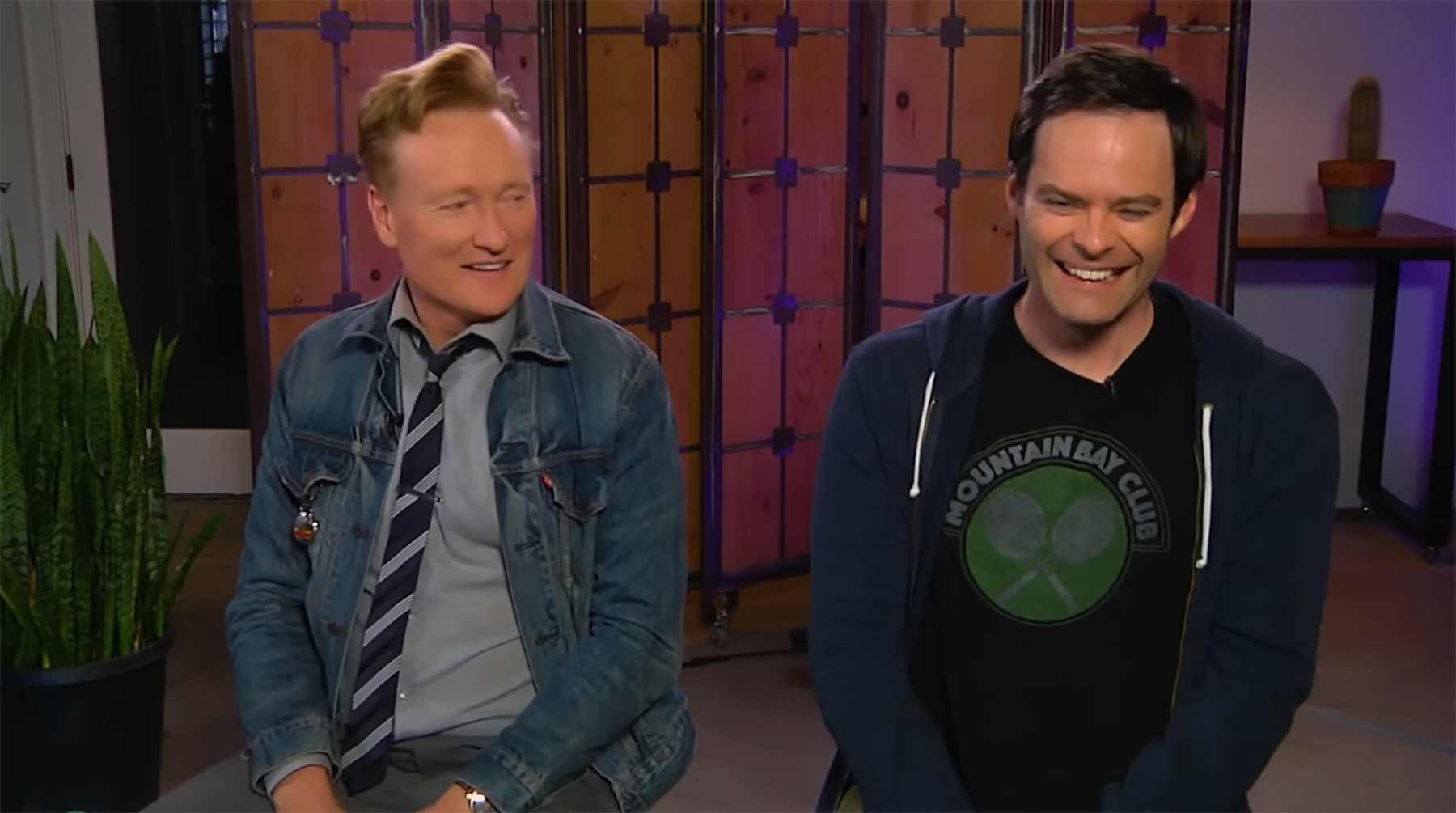 Conan O'Brien spielt God of War
