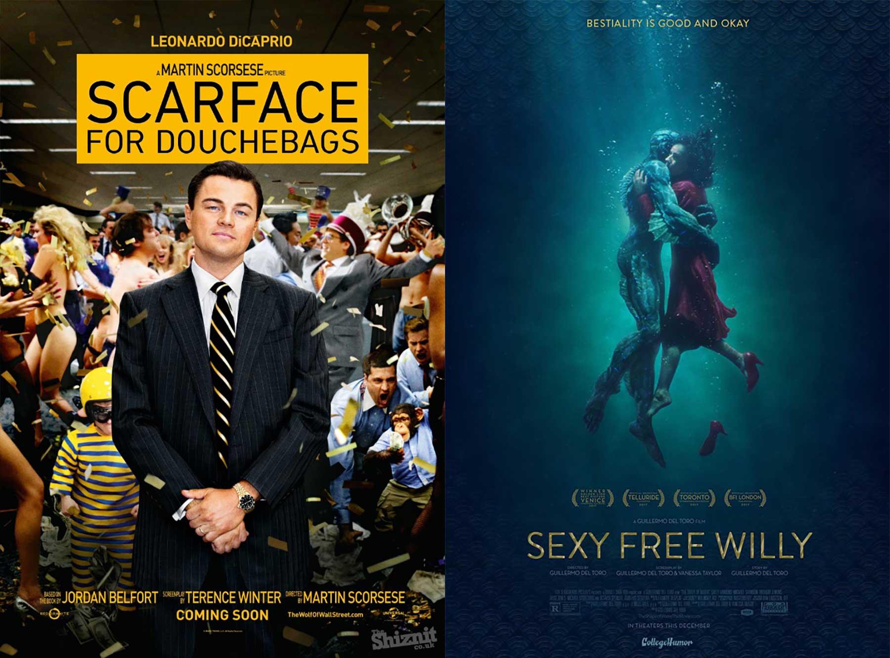 Ehrliche Filmplakate