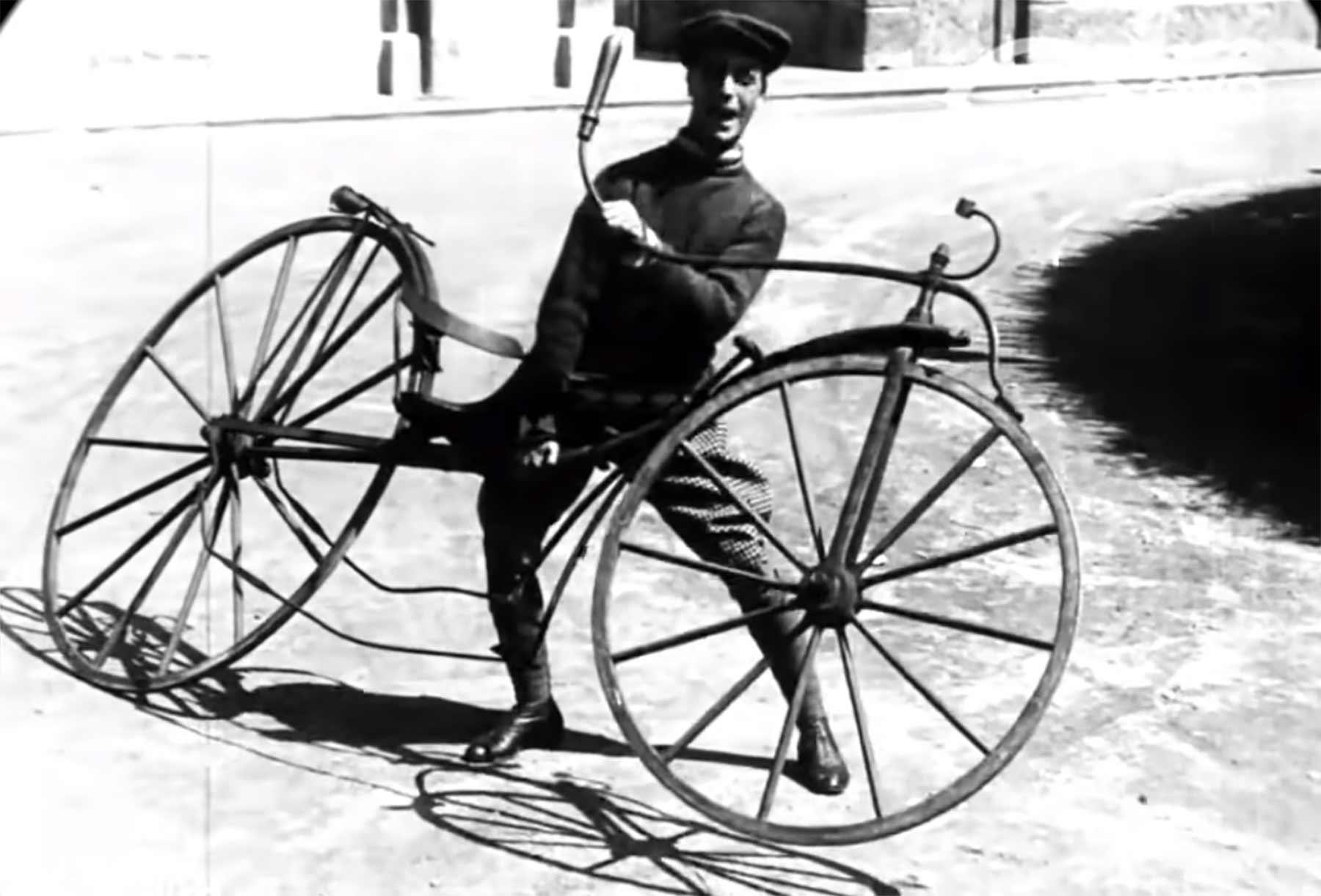 So sahen Fahrräder zwischen 1818 und 1890 aus