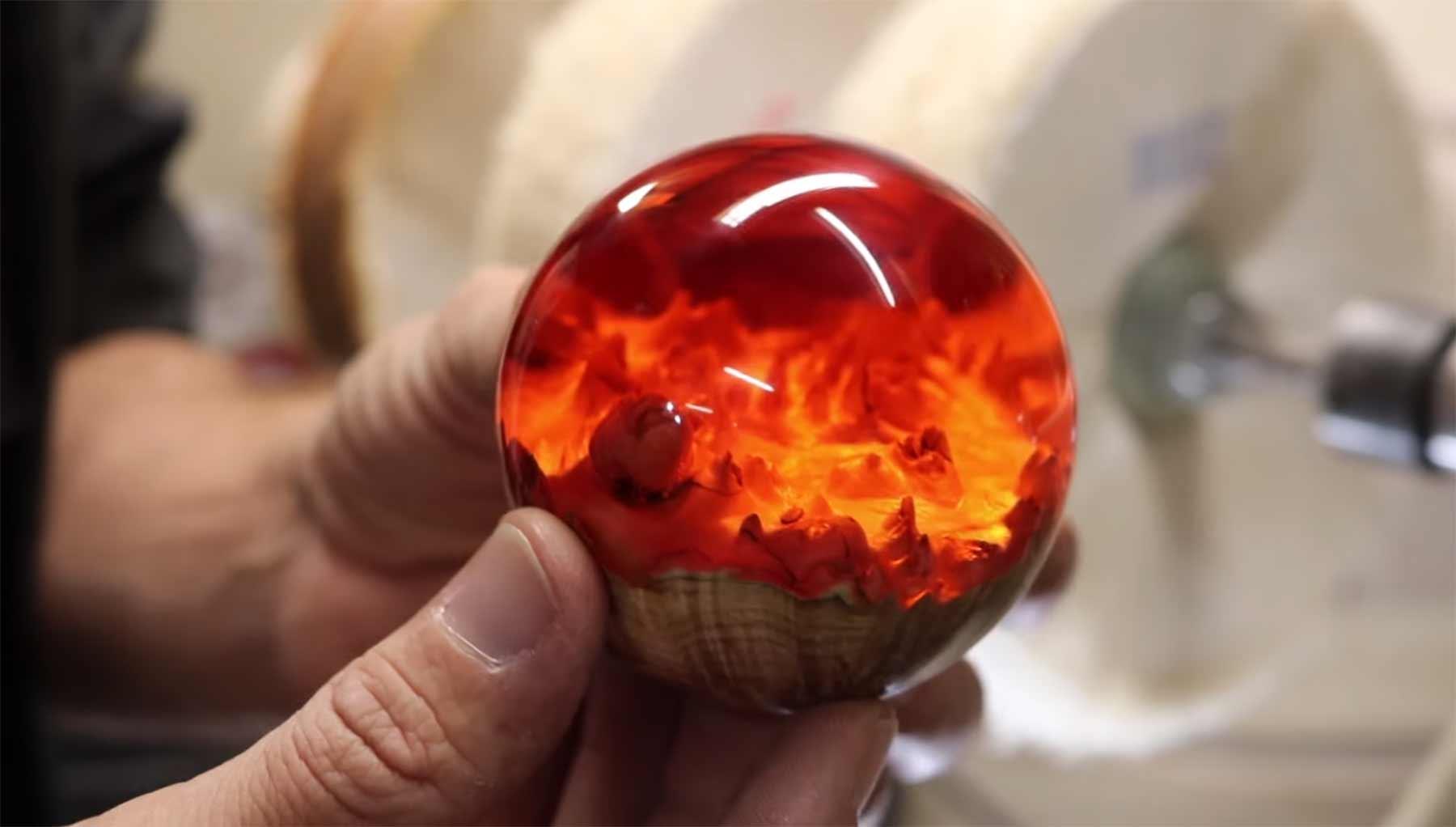 Entstehung einer Hybrid Sphere