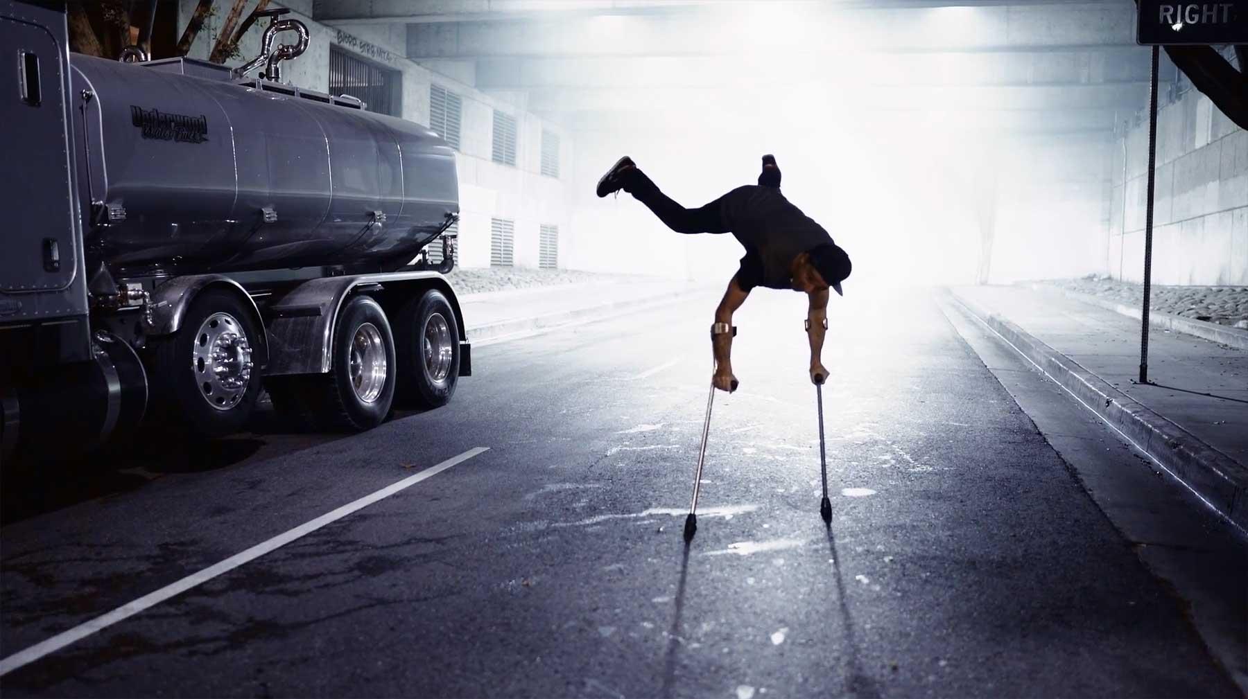 Breakdance mit Behinderung