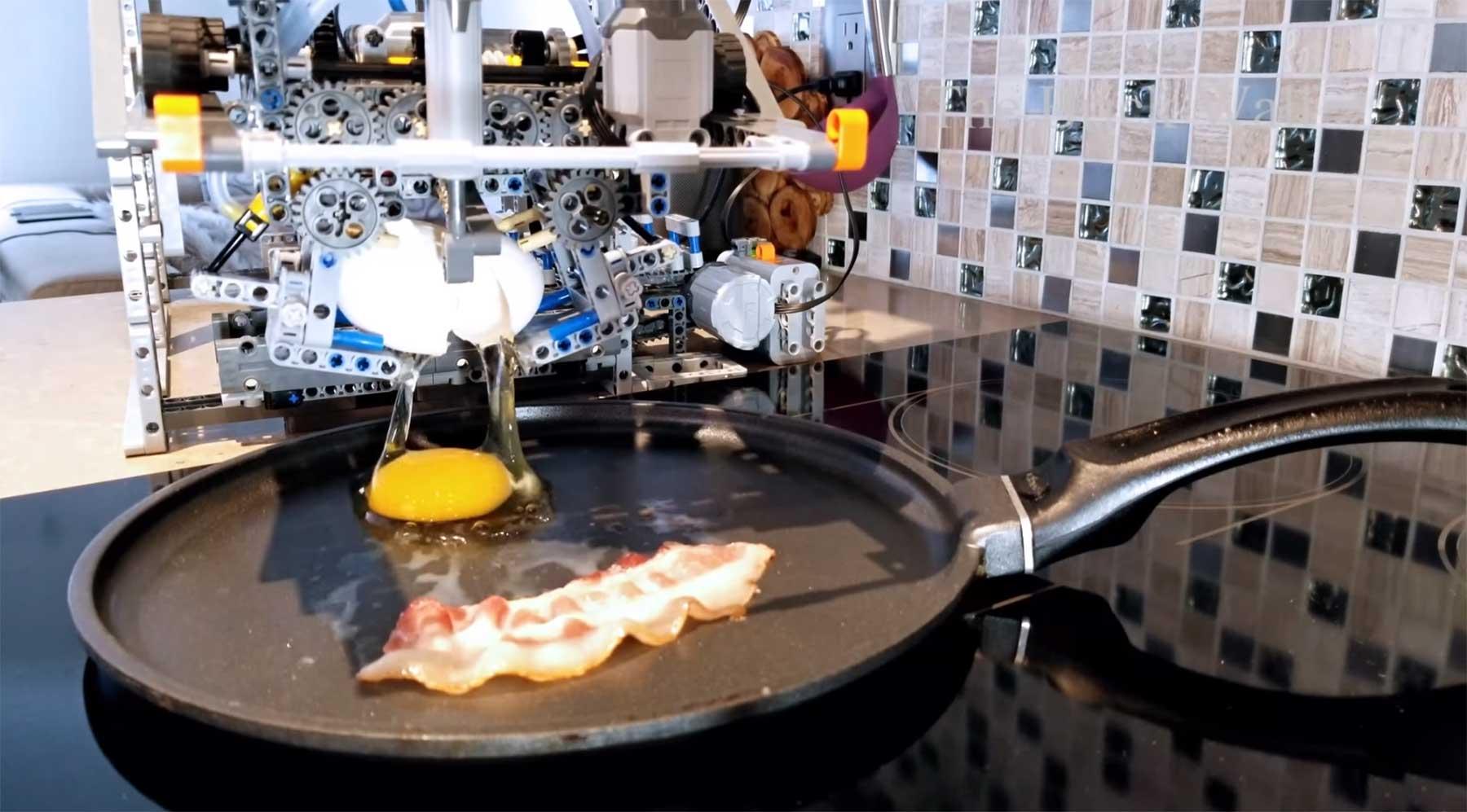 Diese LEGO-Maschine macht dir Frühstück