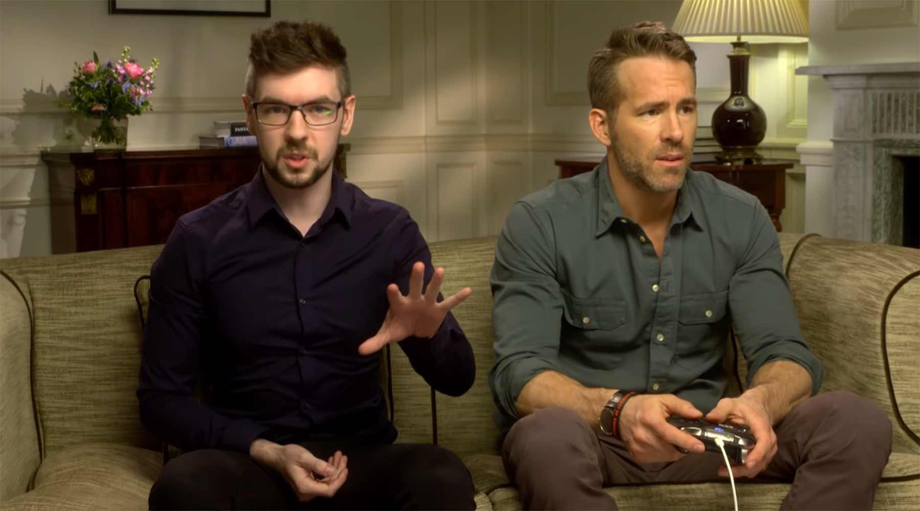 Ryan Reynolds spielt Deadpool (das Videospiel)