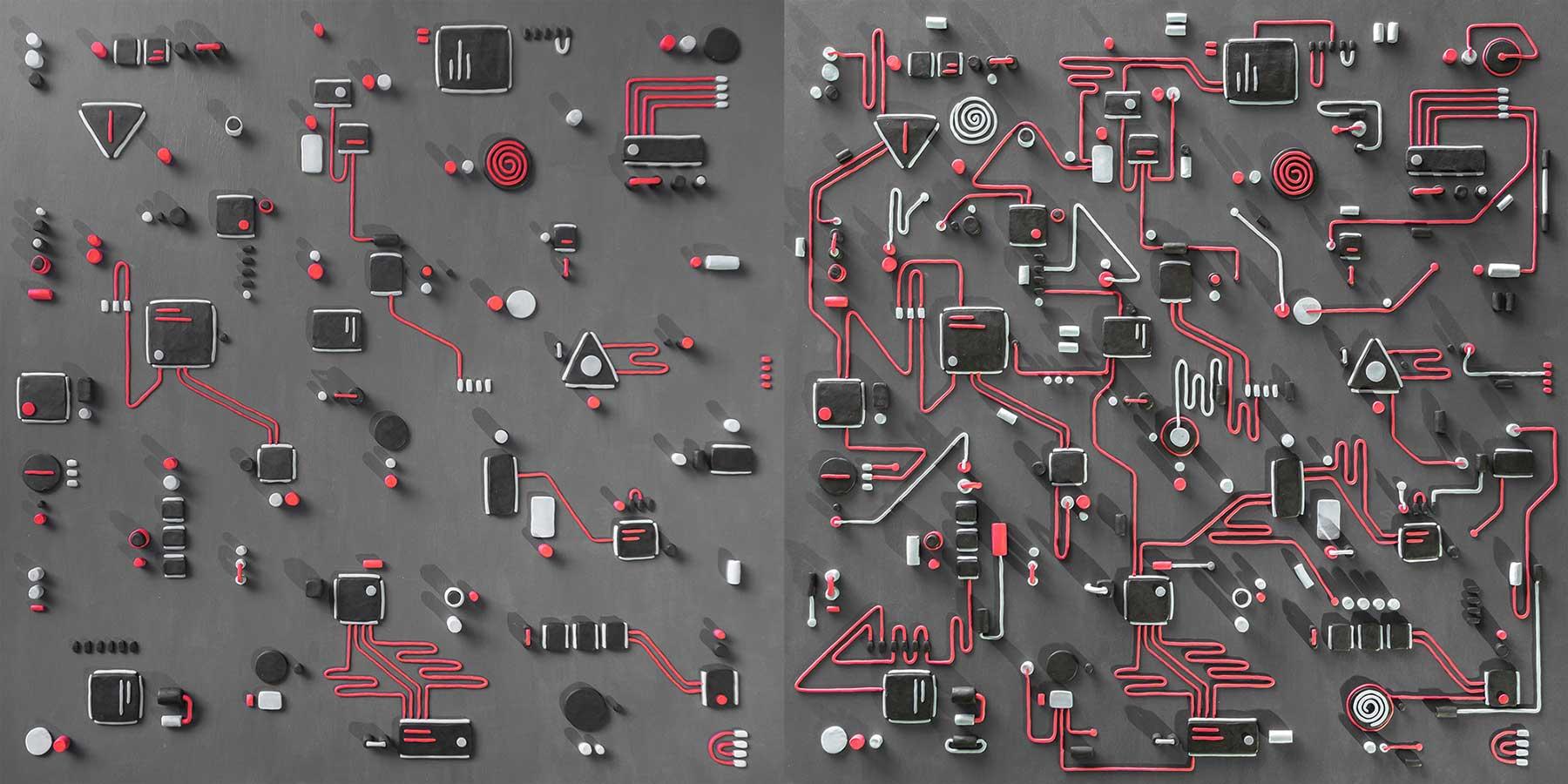 Eine Platine aus Knete schaltkarte-platine-aus-Knete-Tim-Easley_04