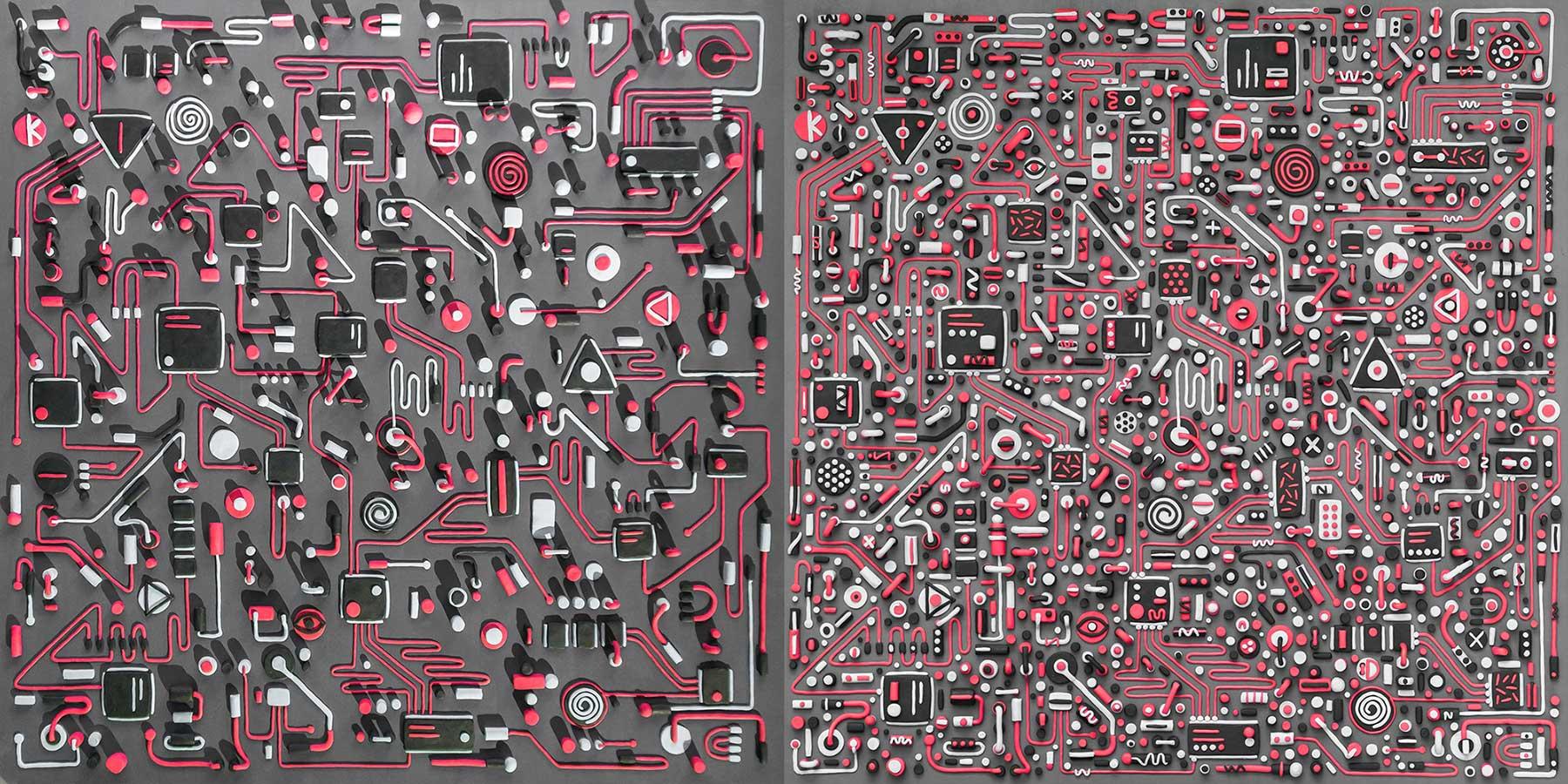 Eine Platine aus Knete schaltkarte-platine-aus-Knete-Tim-Easley_05