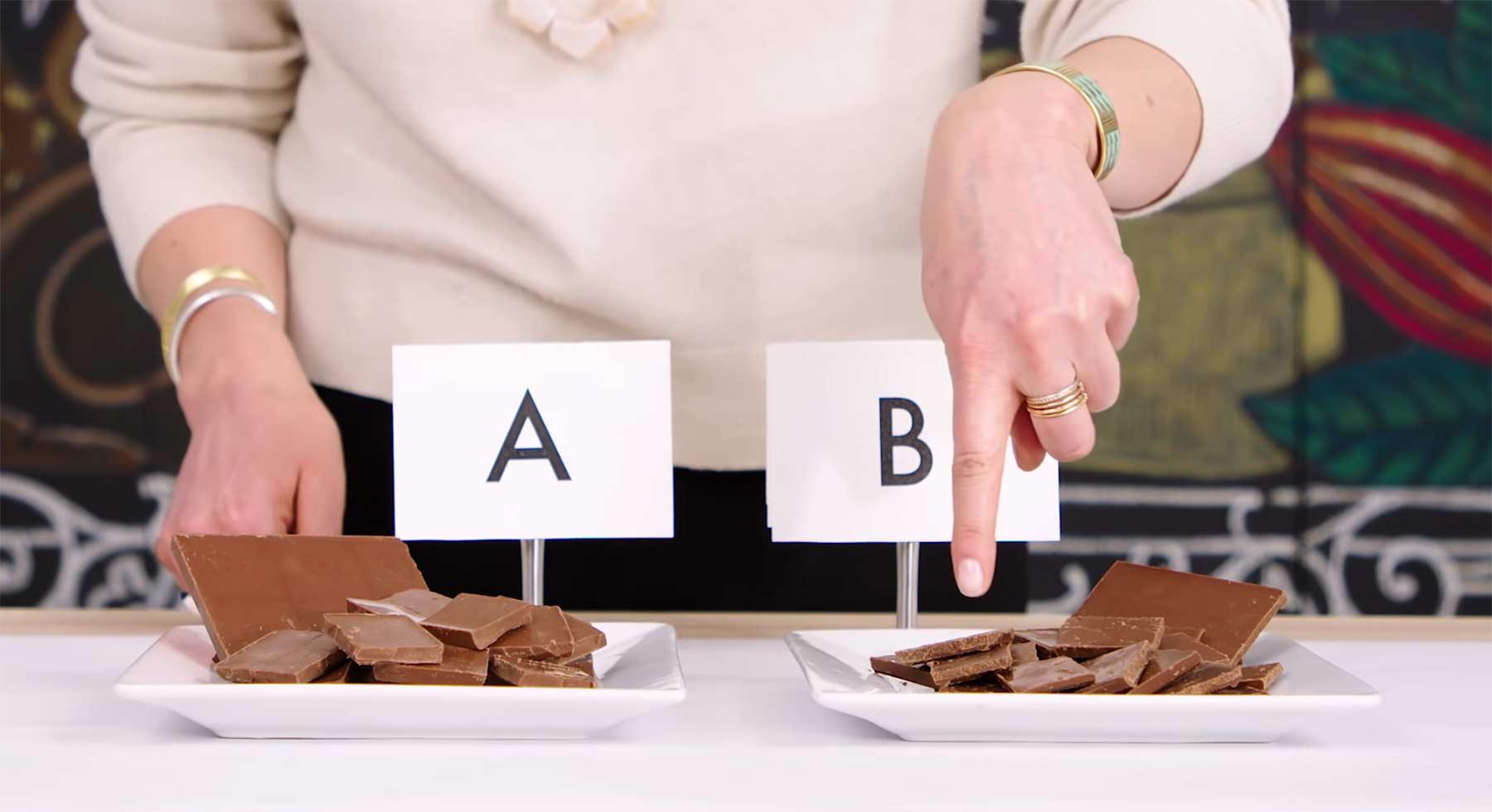 Expertin erläutert, woran man gute Schokolade erkennt