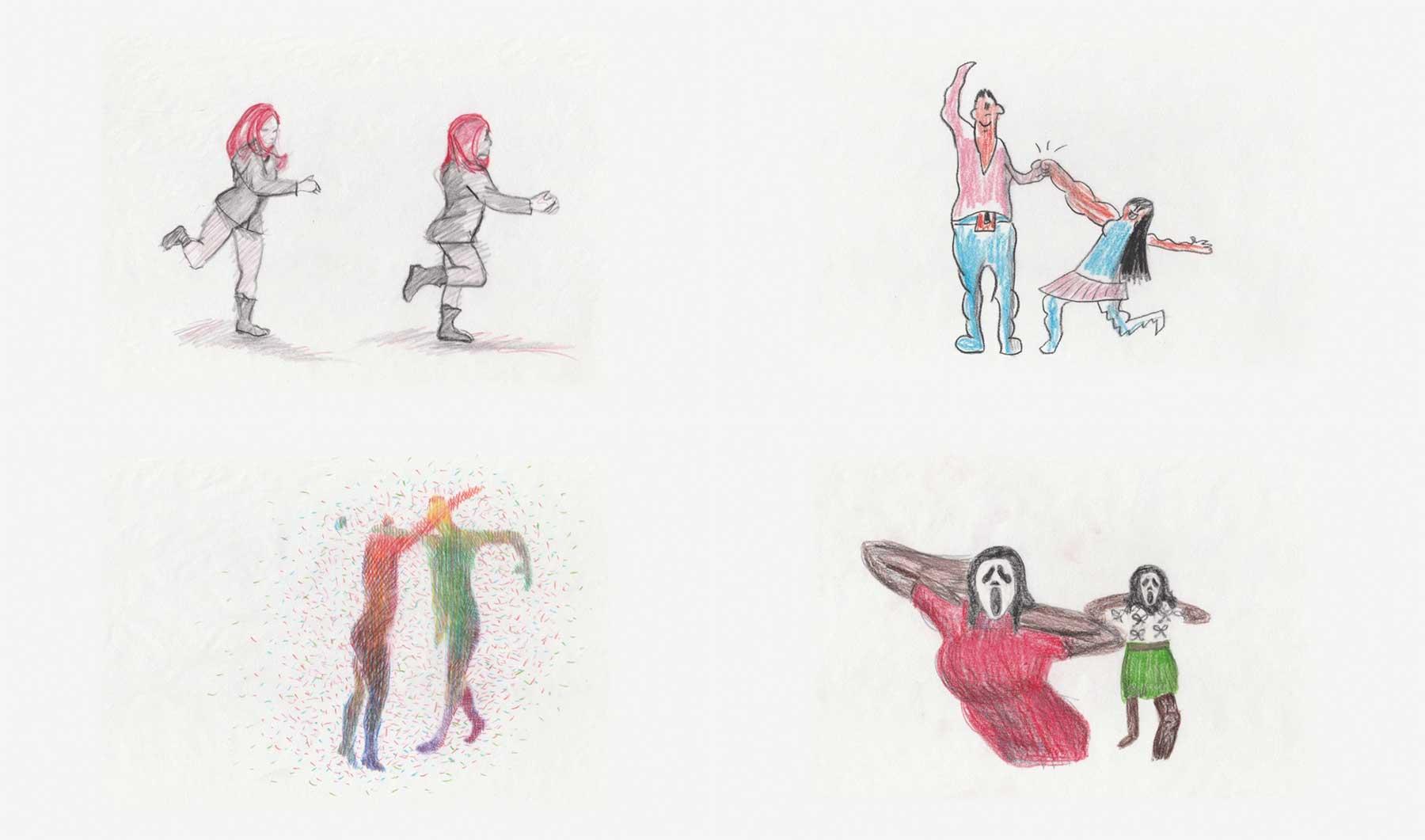 349 Leute haben für diese Tanz-Animation je einen Frame gezeichnet