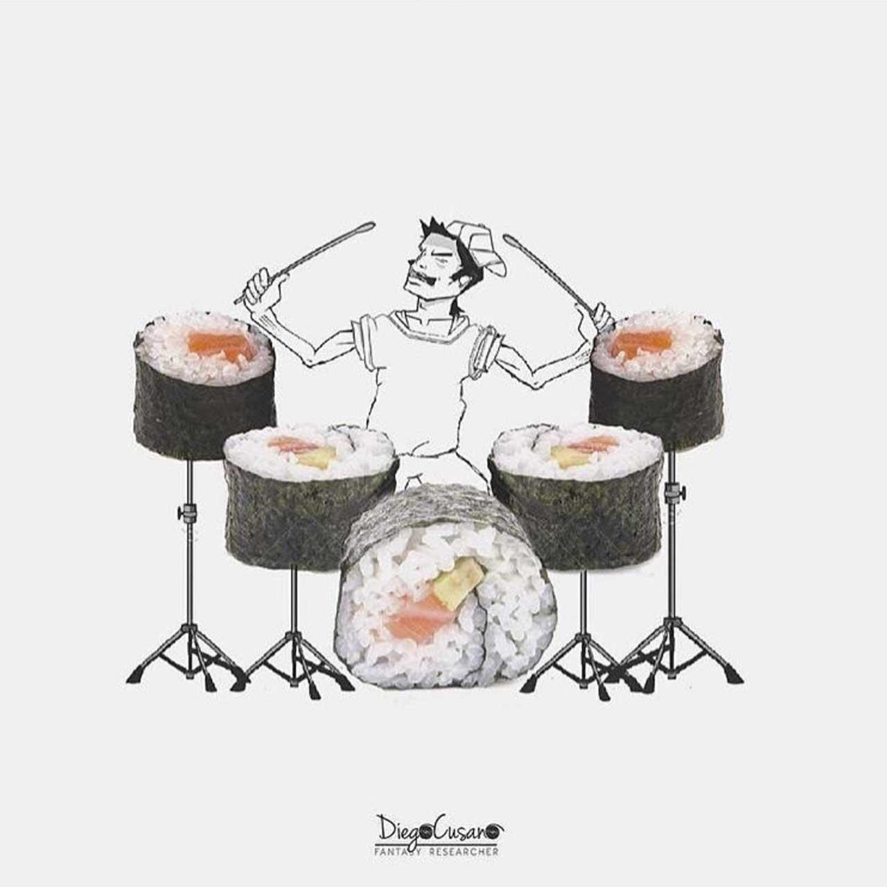 Diego Cusano vermischt Alltagsgegenstände mit Zeichnungen Diego-Cusano-alltagsdinge-treffen-zeichnungen_02