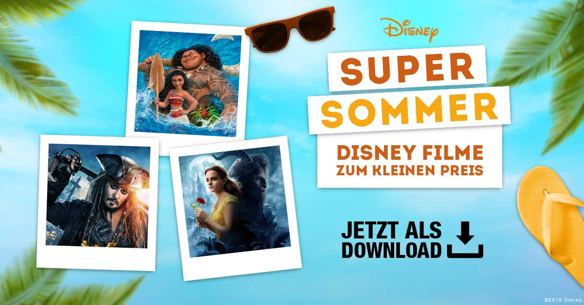 Digitale Disney-Downloads zum Dahinschmelzen