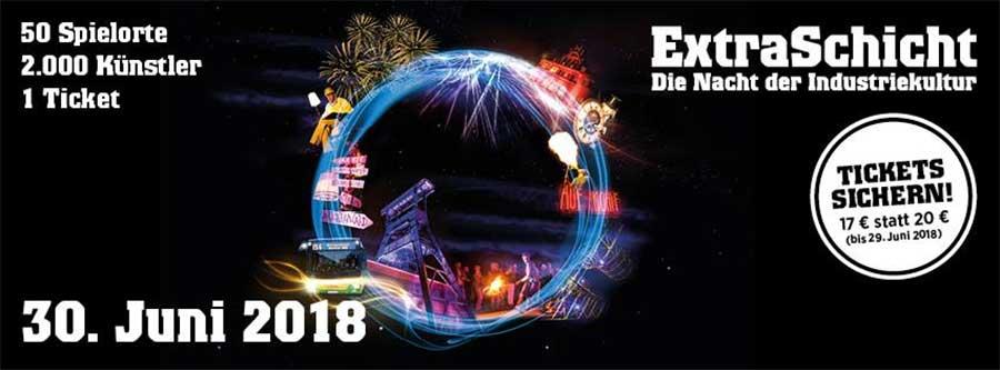 Veranstaltungs-Tipp: Samstag ist ExtraSchicht in der Metropole Ruhr ExtraSchicht-2018_10