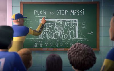 Das Leben von Lionel Messi als Animationskurzfilm