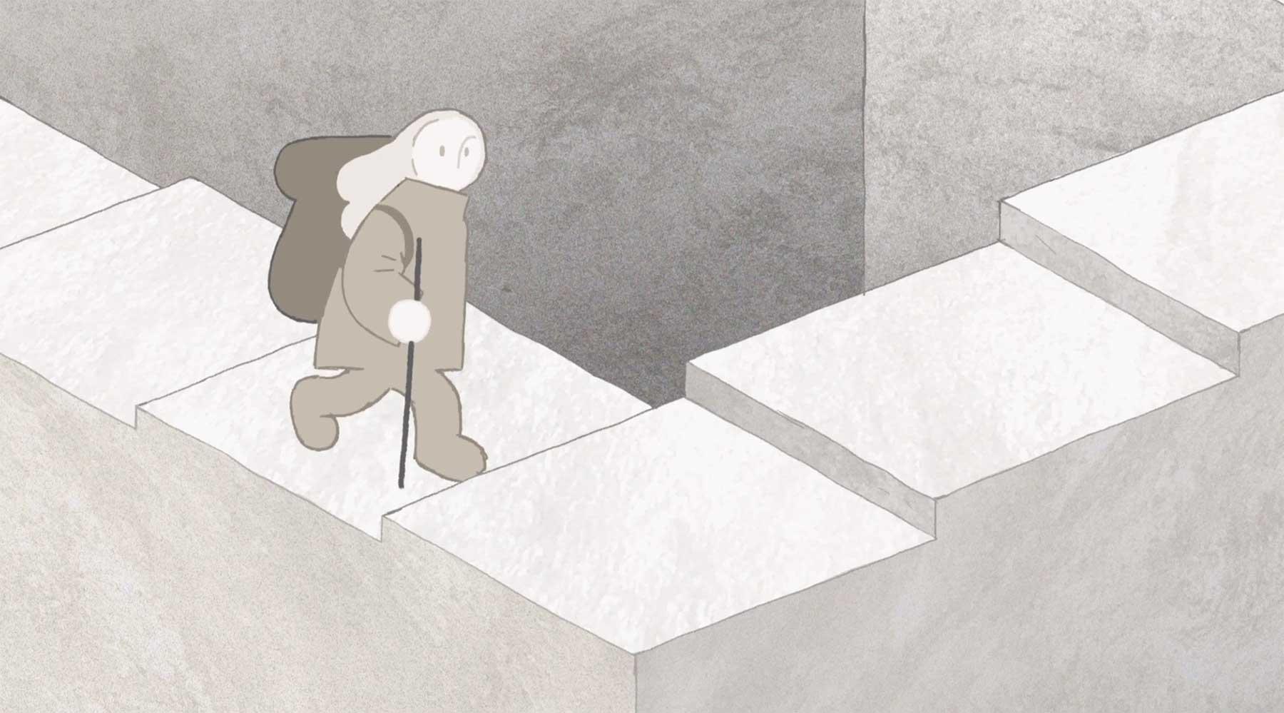 Wanderung mit Hindernissen