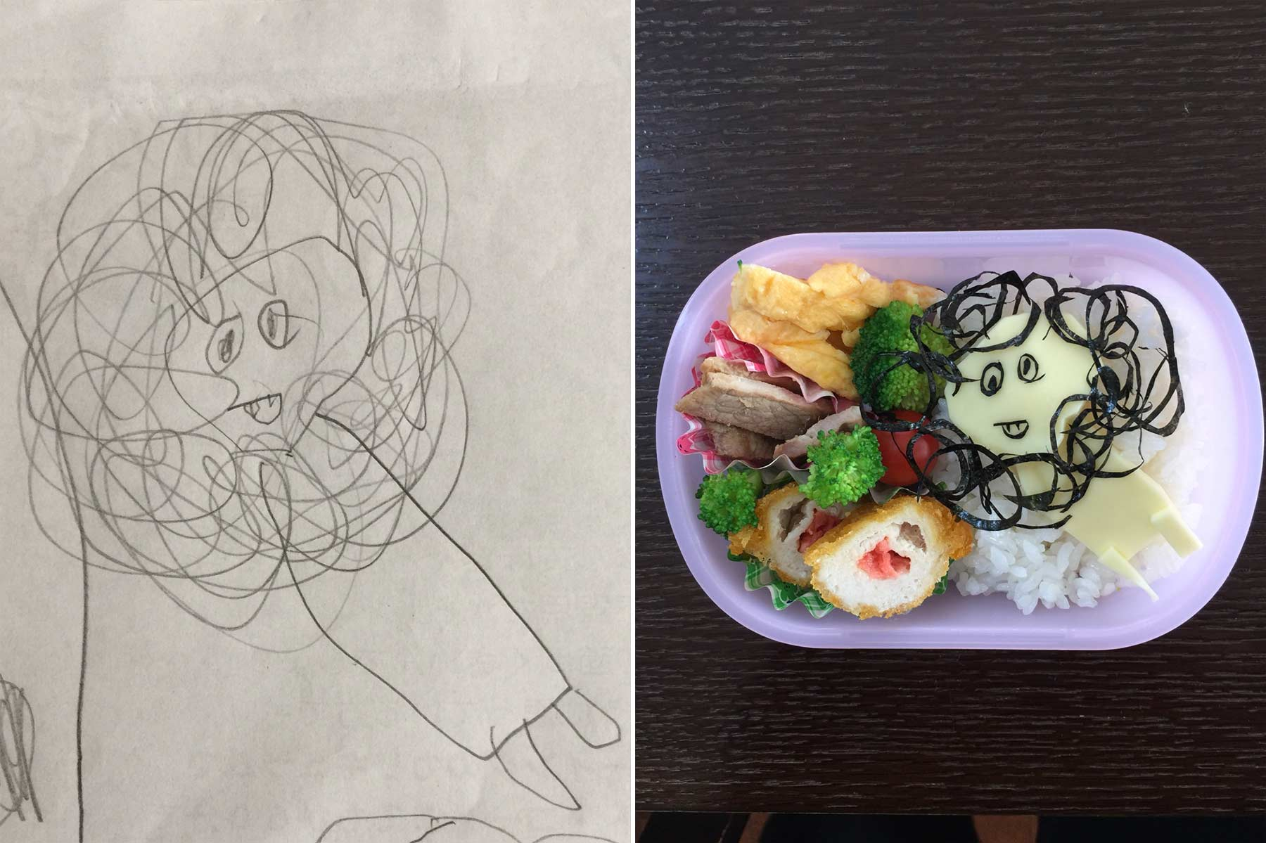 Aus Kinderkritzeleien werden Pausenbrote Takafumi-Ozeki_lunch_01