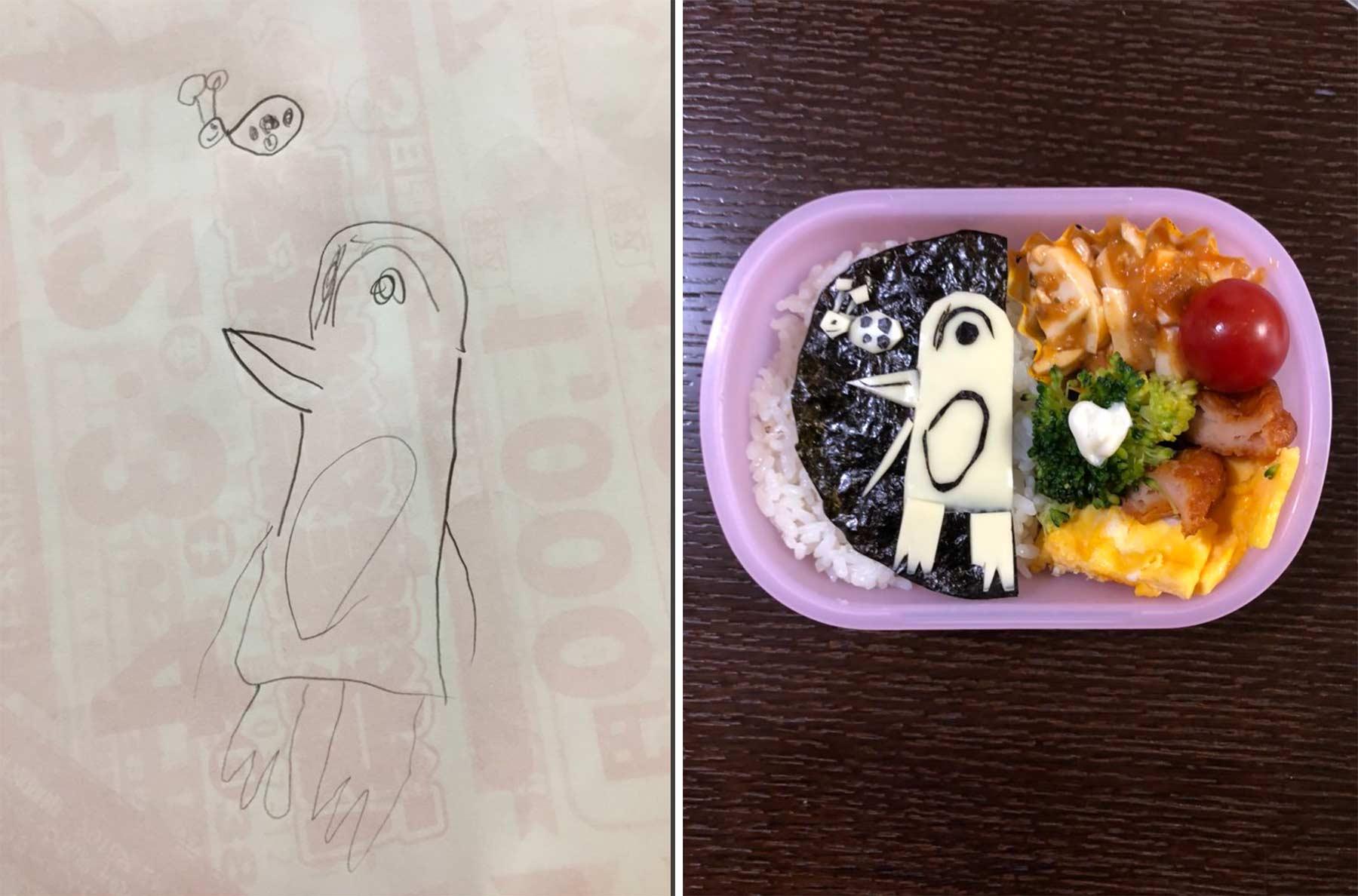 Aus Kinderkritzeleien werden Pausenbrote Takafumi-Ozeki_lunch_03