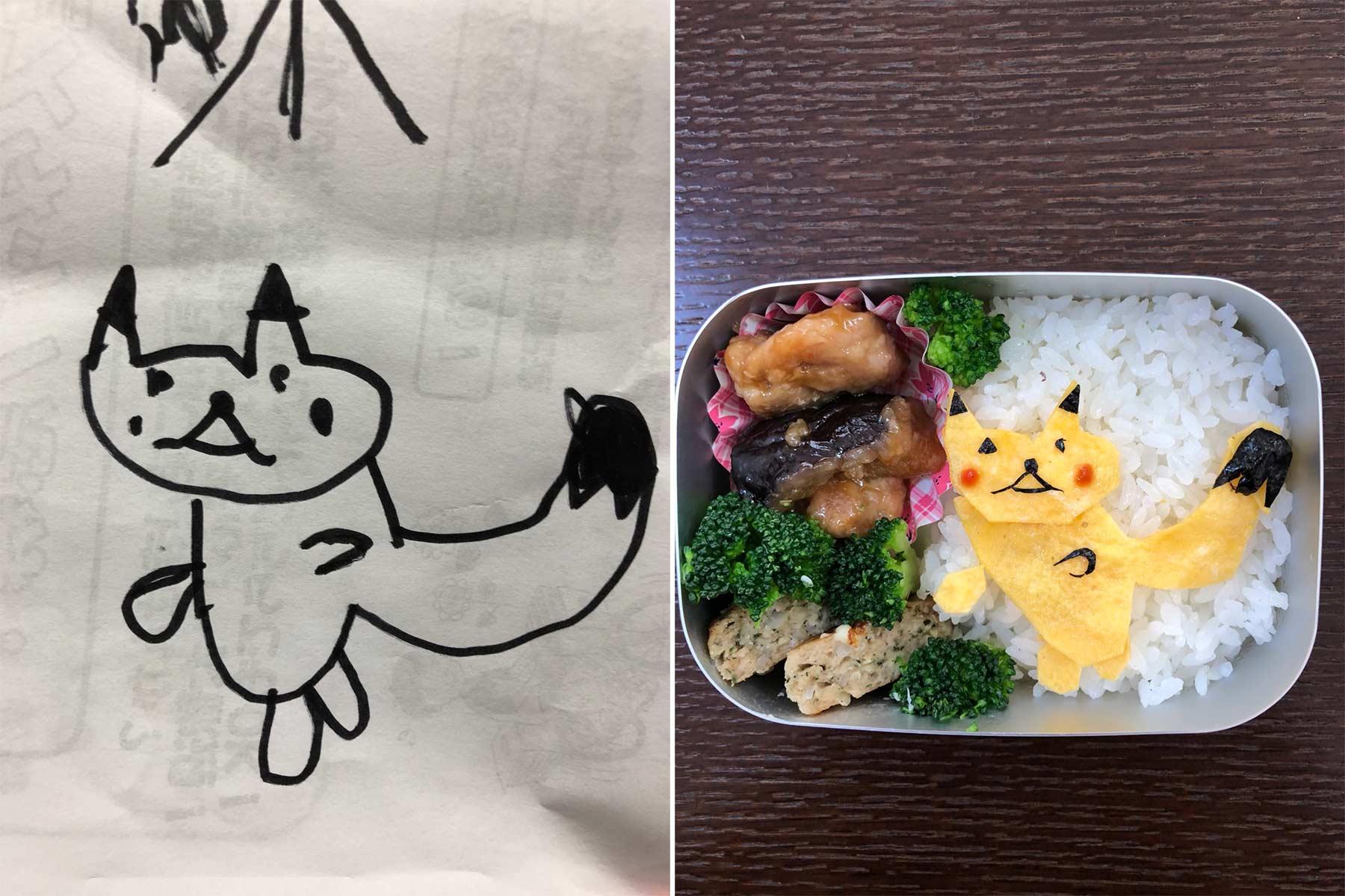 Aus Kinderkritzeleien werden Pausenbrote Takafumi-Ozeki_lunch_05