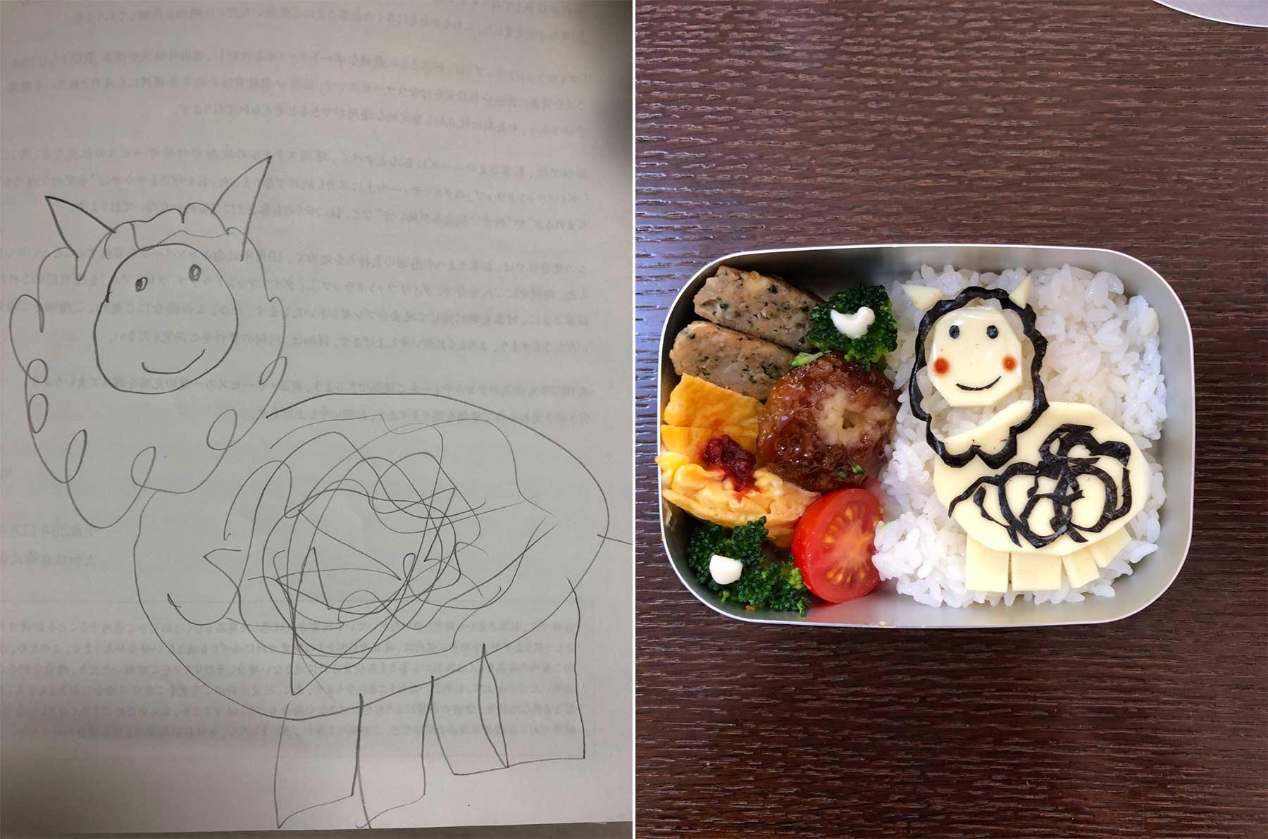 Aus Kinderkritzeleien werden Pausenbrote Takafumi-Ozeki_lunch_06