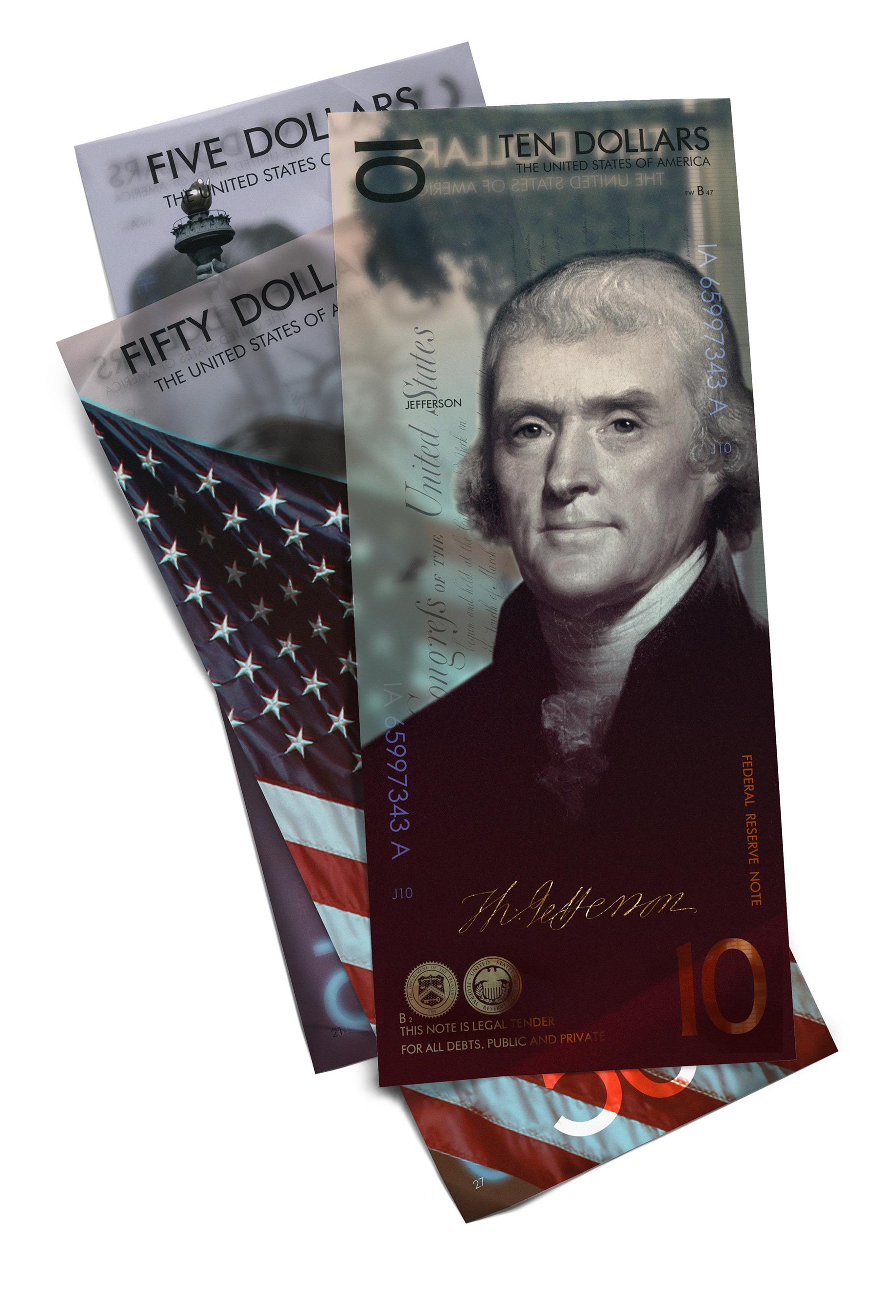 So cool könnten Geldscheine aussehen The-New-US-Dollar-Andrey-Avgust_02