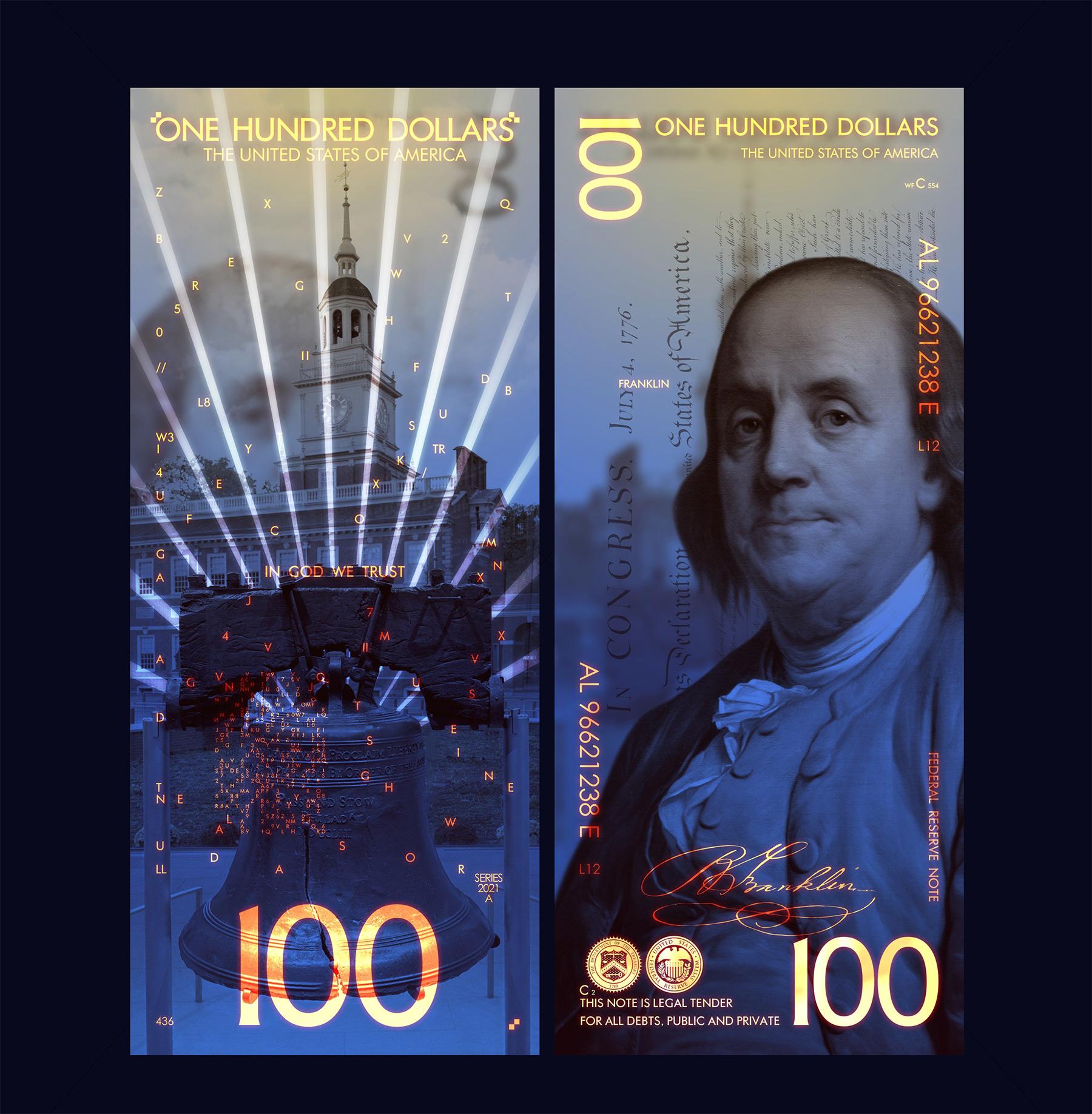 So cool könnten Geldscheine aussehen The-New-US-Dollar-Andrey-Avgust_11
