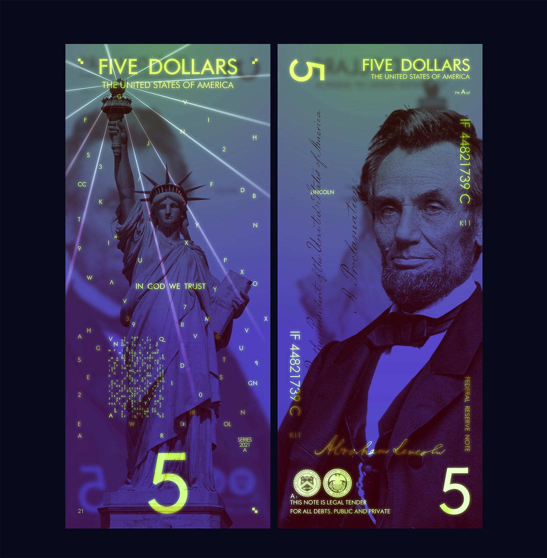 So cool könnten Geldscheine aussehen The-New-US-Dollar-Andrey-Avgust_12