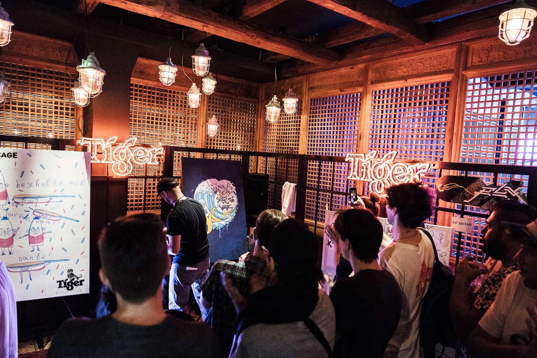 The Uncaged: Unterstützt aufstrebende Jungkünstler bei ihren Projekten Tiger-Beer-The-Uncaged_02