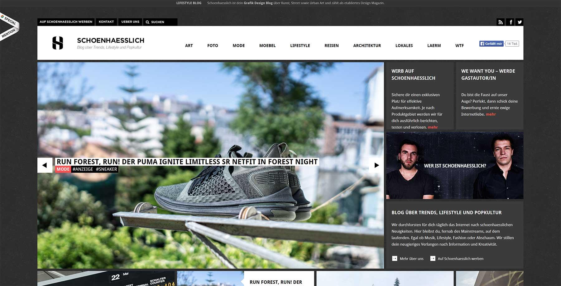 #WirliebenBlogs: Diese Websites solltet ihr euch mal anschauen WirliebenBlogs_01_schoenhaesslich