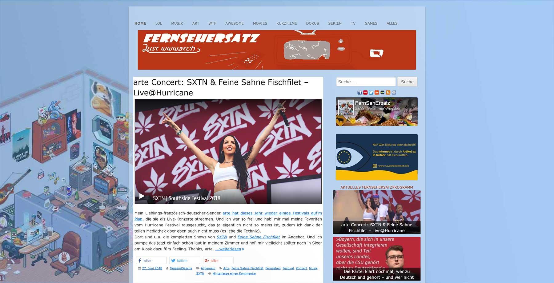 #WirliebenBlogs: Diese Websites solltet ihr euch mal anschauen WirliebenBlogs_05_Fernsehersatz