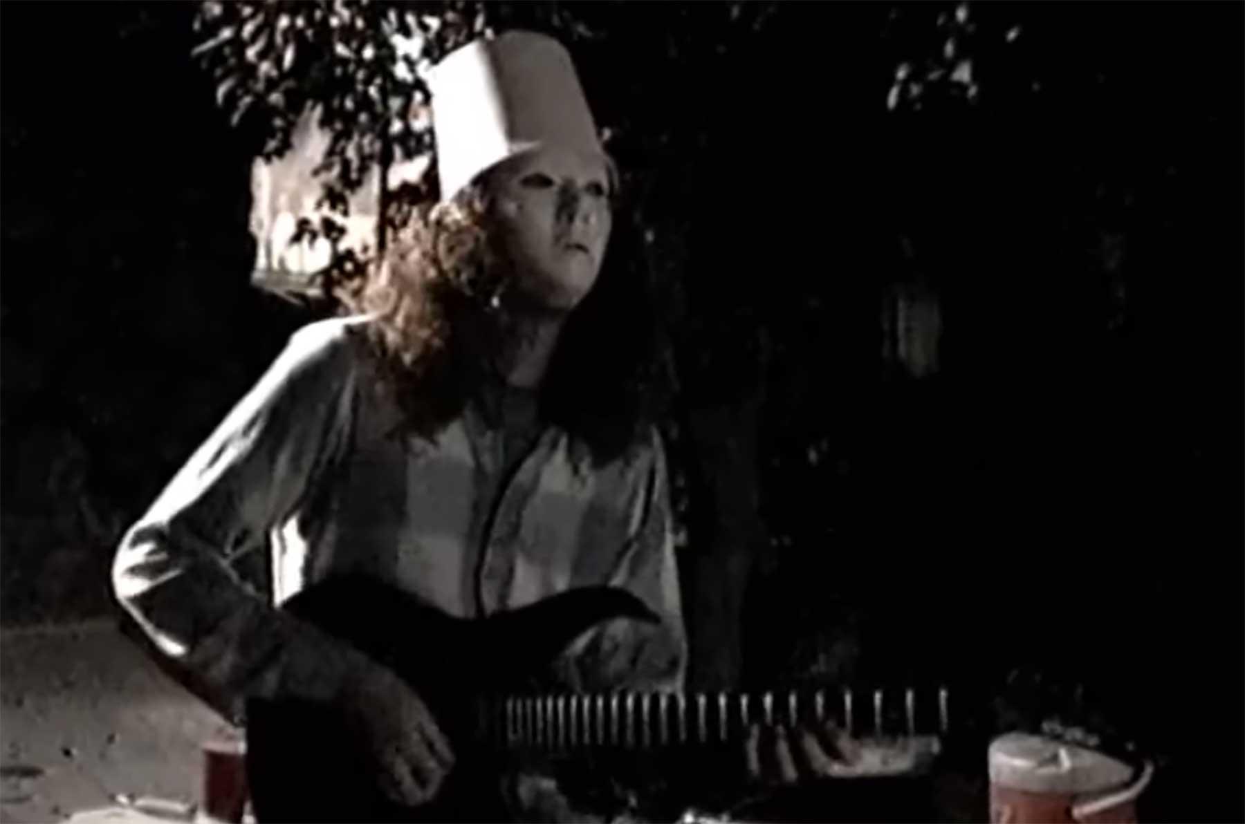 Privater Buckethead-Gig auf einem Familienfest 1991