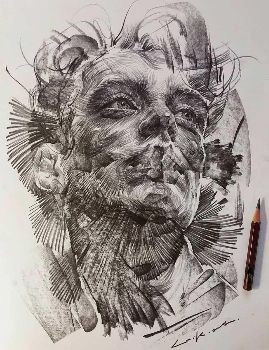 Zeichnungen: Lee.k gezeichnete-portraits-lee-k_03