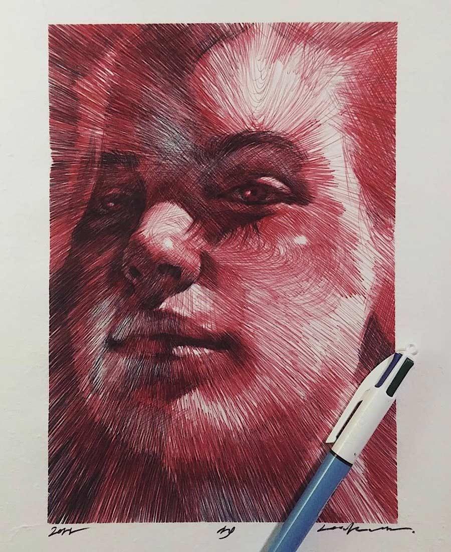 Zeichnungen: Lee.k gezeichnete-portraits-lee-k_07