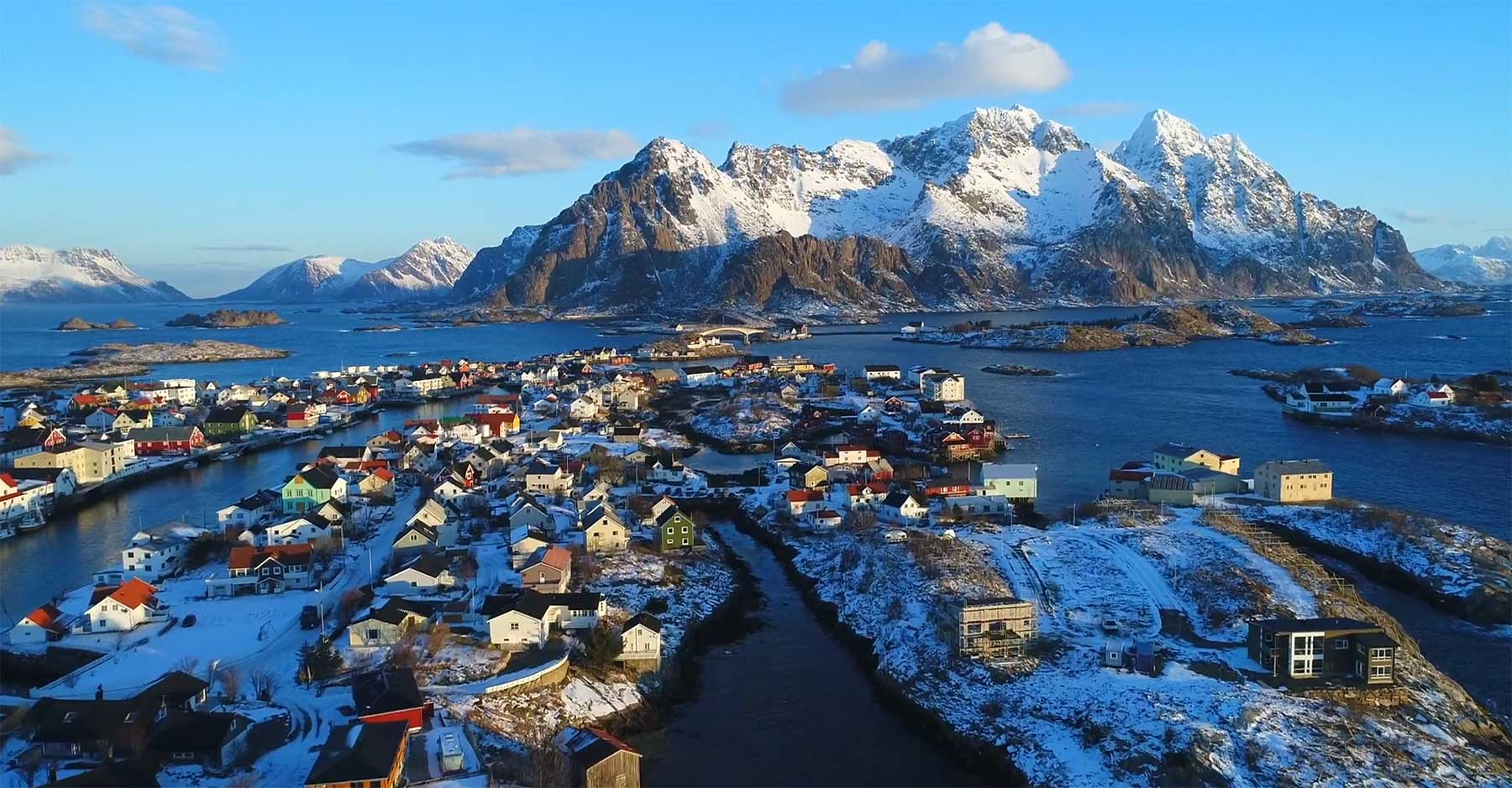 Die Schönheit Nord-Norwegens