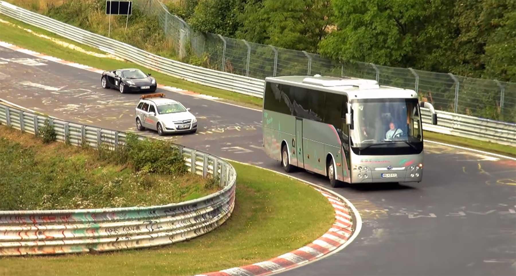 Was so alles auf dem Nürburgring herumfährt