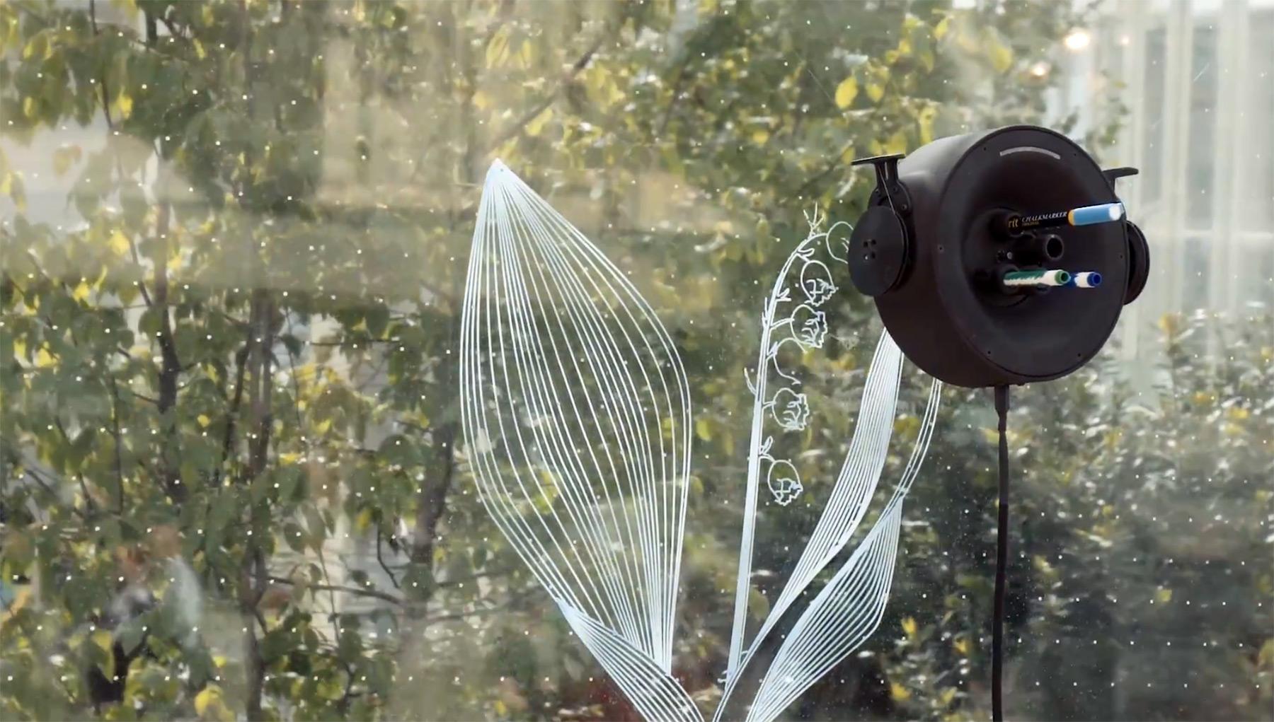 Scribit: Dieser Roboter bemalt Wände scribit-wandmalroboter