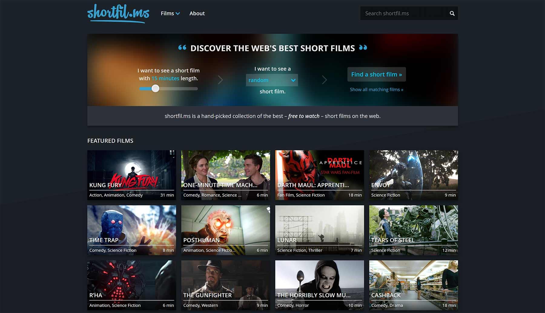 Auf shortfil.ms findet ihr viele gute Kurzfilme shortfil.ms-2.0-screenshot-website-kurzfilme