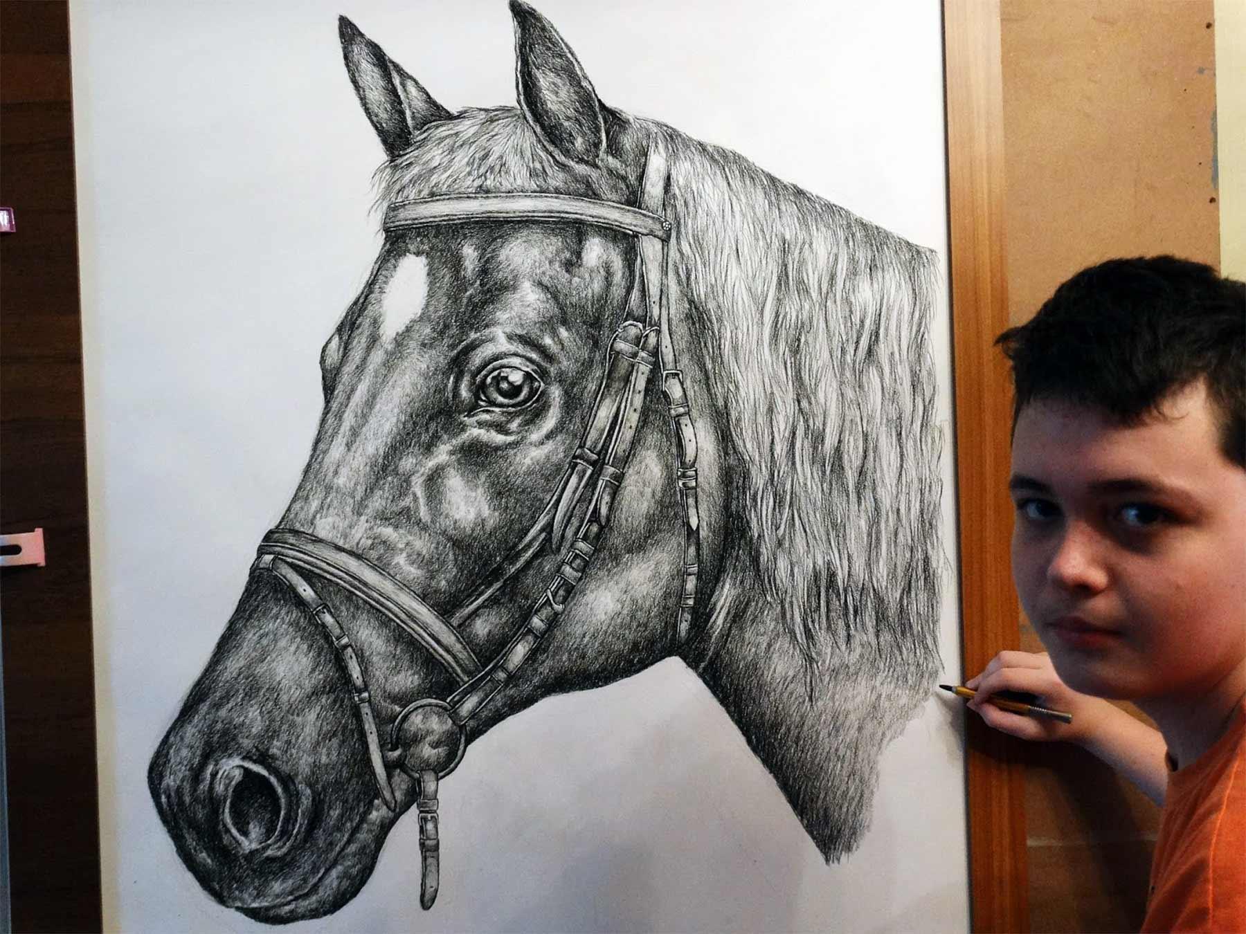 Die genialen Zeichnungen des 15-jährigen Dušan Krtolica