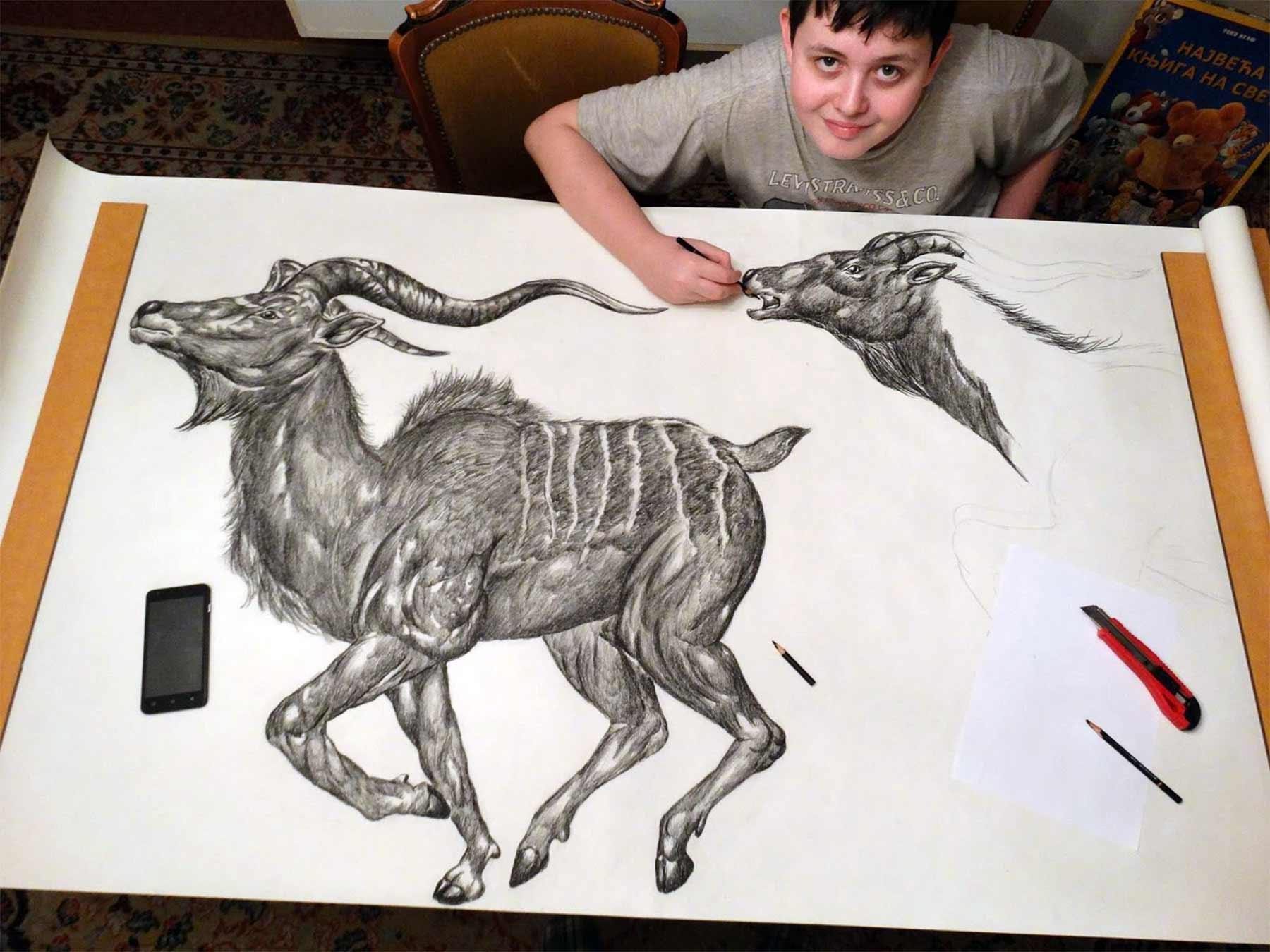 Die genialen Zeichnungen des 15-jährigen Dušan Krtolica Dusan-Krtolica-zeichnungen-2018_04