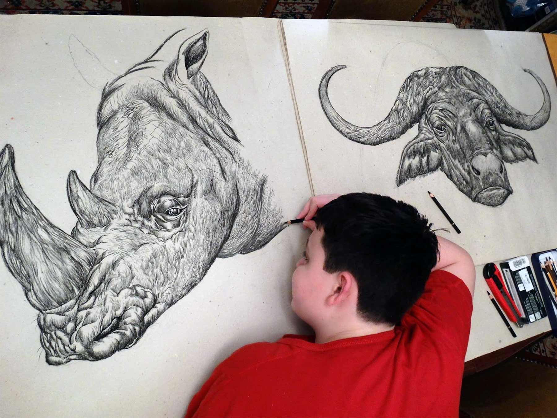 Die genialen Zeichnungen des 15-jährigen Dušan Krtolica Dusan-Krtolica-zeichnungen-2018_05