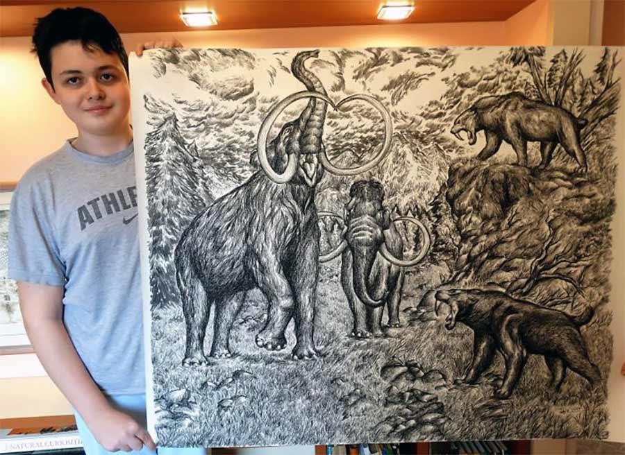 Die genialen Zeichnungen des 15-jährigen Dušan Krtolica Dusan-Krtolica-zeichnungen-2018_07