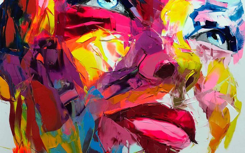 Malerei: Françoise Nielly