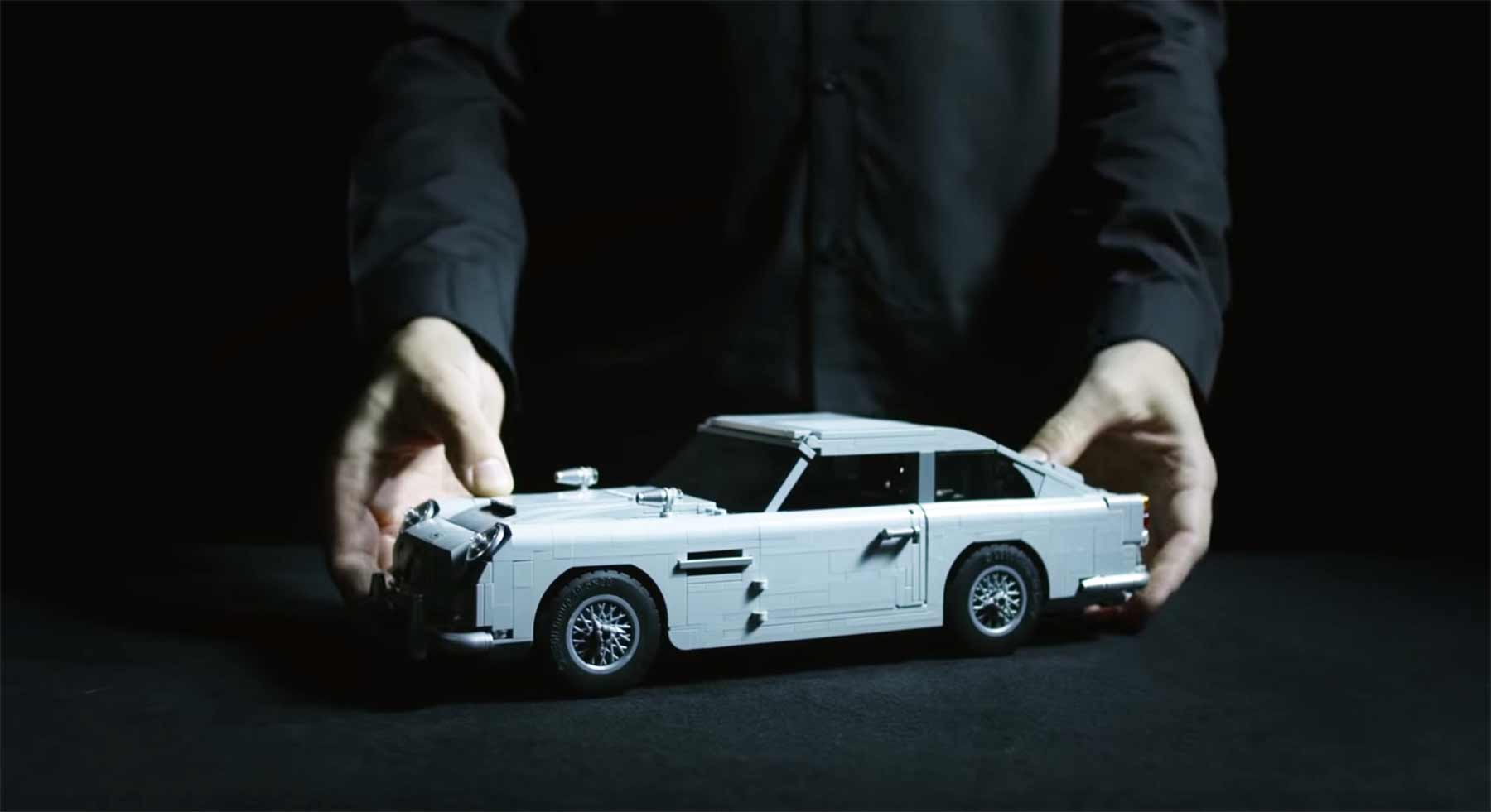 James Bonds Aston Martin DB5 als LEGO-Modell LEGO-Aston-Martin-DB5-James-Bond-007